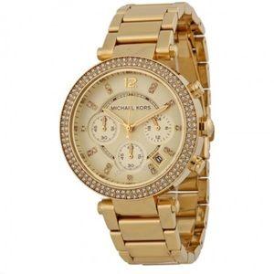 Authentic New Michael Kors Parker Gold watch
